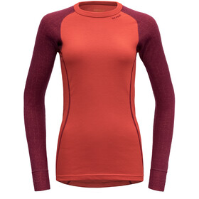 Devold Duo Active Maillot Mujer, beetroot